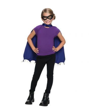 Batgirl Maske & Umhang Set