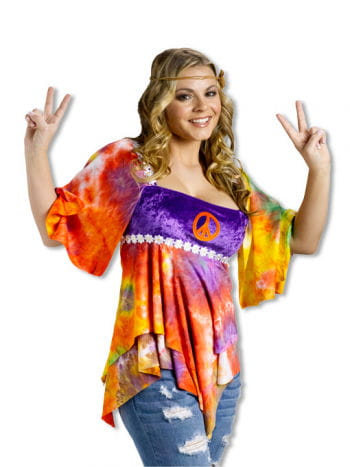 Batik Hippie Baby Doll Top
