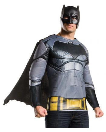 Batman Muskel Shirt mit Umhang & Maske