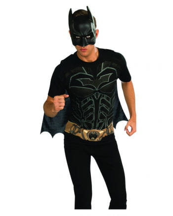 Batman shirt mask