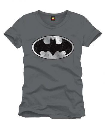 Batman T-Shirt silber Logo