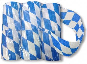 Bavarian Crepe Paper Streamer 8 cm 6 pcs