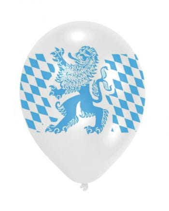 Bayern Rauten Luft Ballon 6 Stück