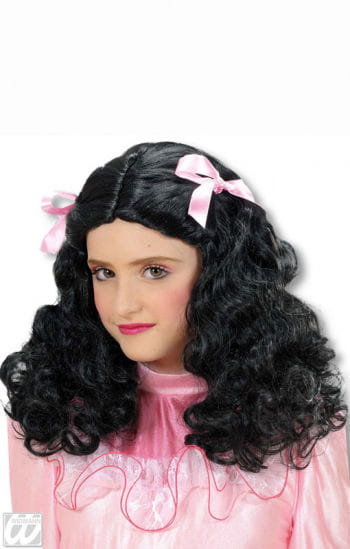 Beauty Queen Child Wig Black