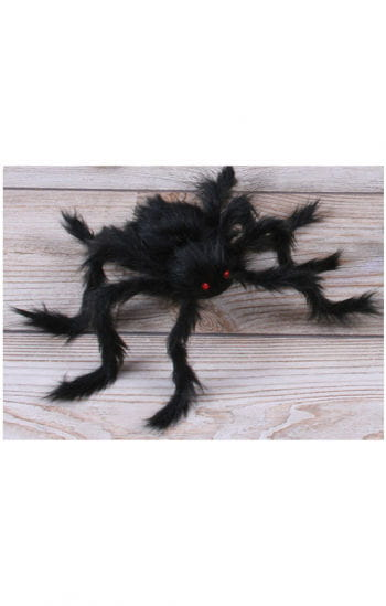 Hairy Horror Spider Black