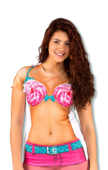 Bikini Shirt zum Anbeissen