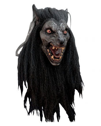 Black Moon Werewolf Mask