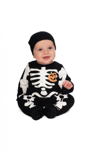 Black Skeleton Onesie