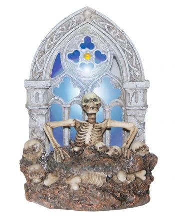 Skelett Gruftlicht mit LED