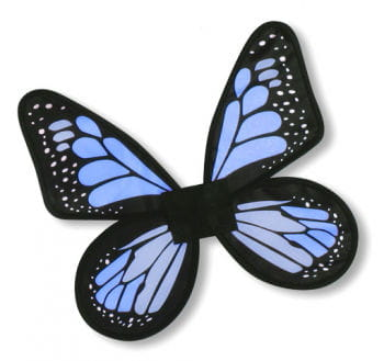 Satin Butterfly Wings Blue