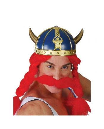 Blauer Gallier Helm