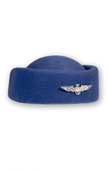 Stewardesses pillbox hat