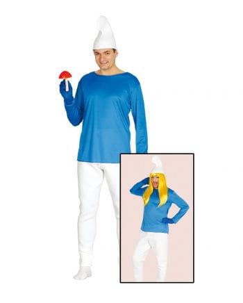 Blaues Zwergen Kostüm
