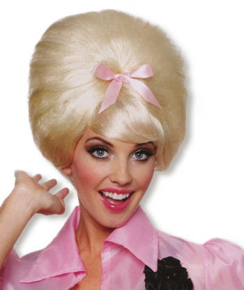 Blond 50s Beehive Wig