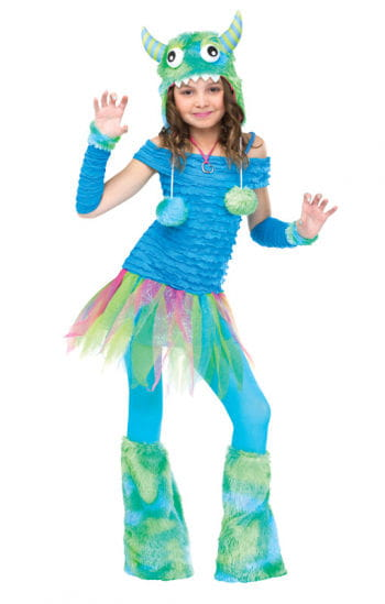 Blue Beastie Child Costume