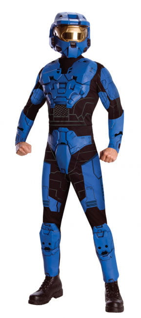 Blue Spartan Costume Deluxe XL