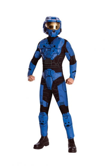 Blue Spartan Costume Deluxe