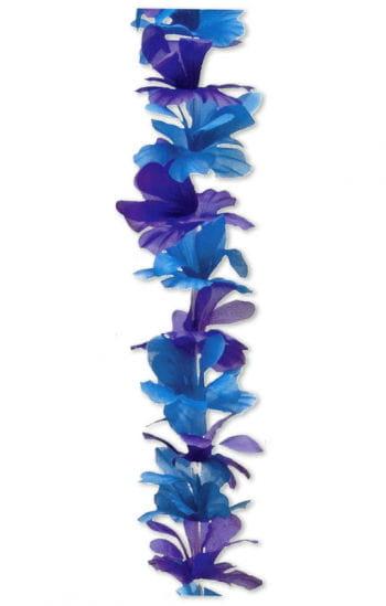 Blumen Kette blau/lila