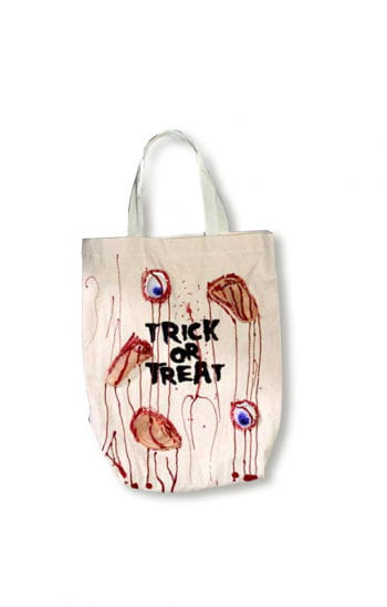 Bloody Halloween Trick or Treat Bag