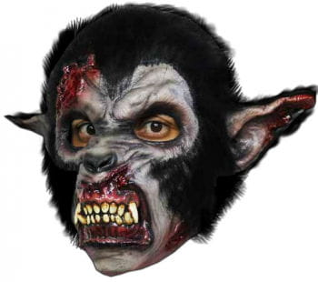 Bloody Night Wolf Werewolf Mask