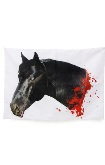 Bloody horses pillowcase