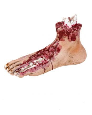 Bloody zombie walk