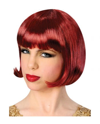 Bob Wig Maroon Red