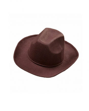 Cowboy felt hat Brown