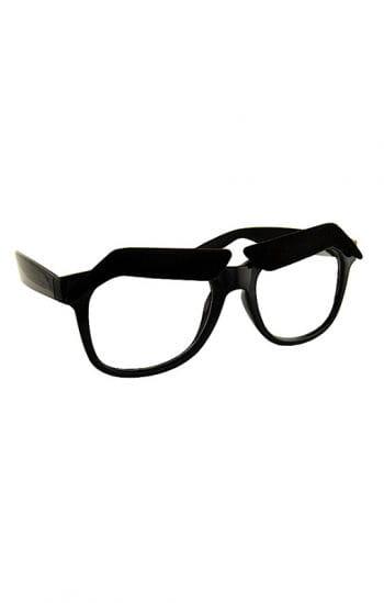 Hipsterbrille mit Augenbrauen