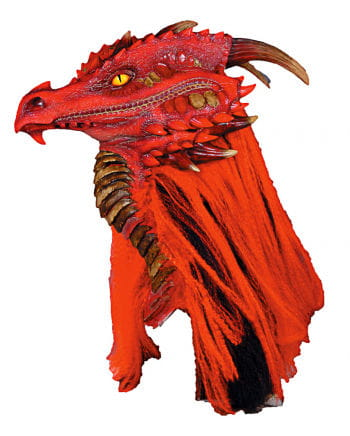 Brimstone dragon mask red