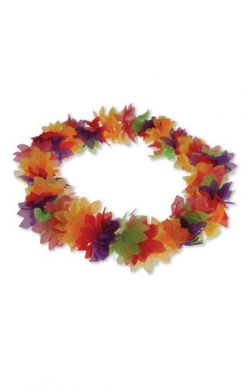Colorful Hawaiian lei Deluxe