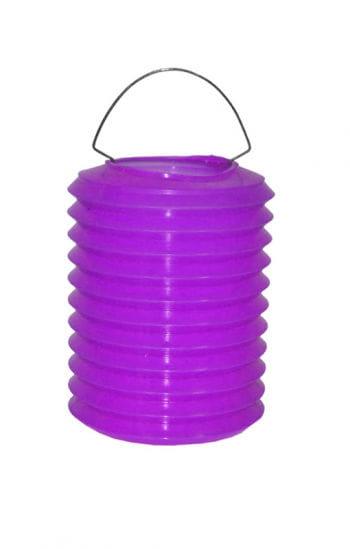 Bunte Lampions aus Kunststoff violett