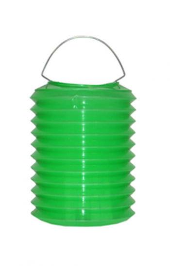 Bunte Laternen aus Kunststoff grün