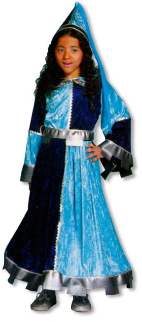 Castle Damsel Child Costume