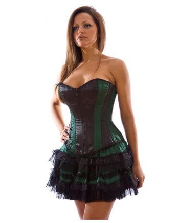 Burleska Lolita Minirock dunkelgrün