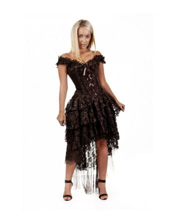 Burleska Ophelie dress brown