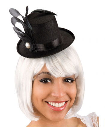 Burlesque Mini Top Hat black