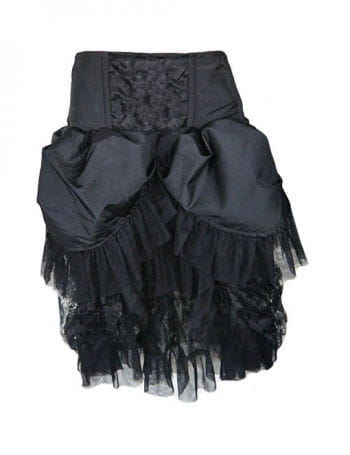 Burlesque taffeta skirt