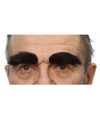 Selbstklebende Augenbrauen Dunkelbraun