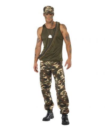 Camouflage Men`s Costume