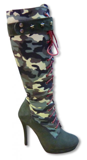 Camouflage Stiefel