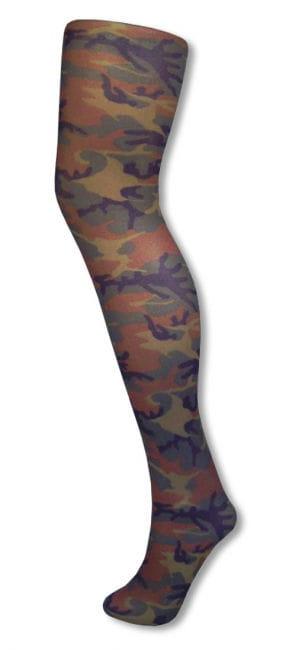 Camouflage Strumpfhose