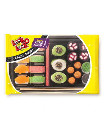 Candy Sushi mit Fruchtgummi