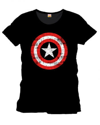 Captain America Damen T-Shirt The Shield