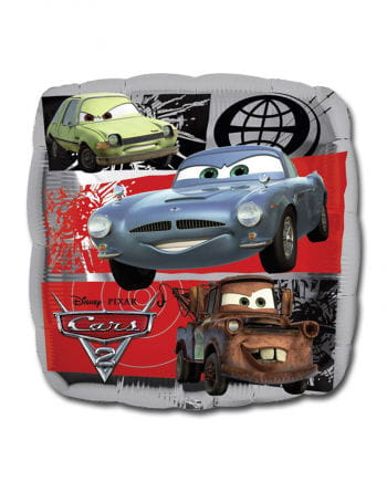 Cars 2 Foil Balloon