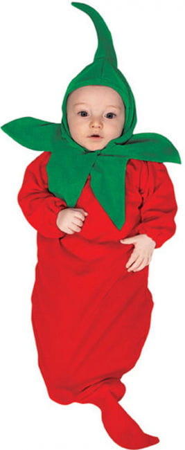 Chili Pepper Baby Bunting Costume