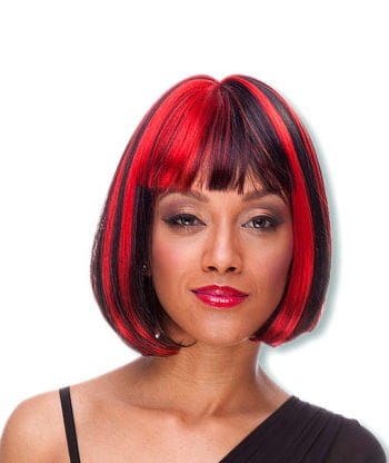 Cindy Wig Red / black