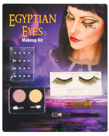 Cleopatra eye makeup set