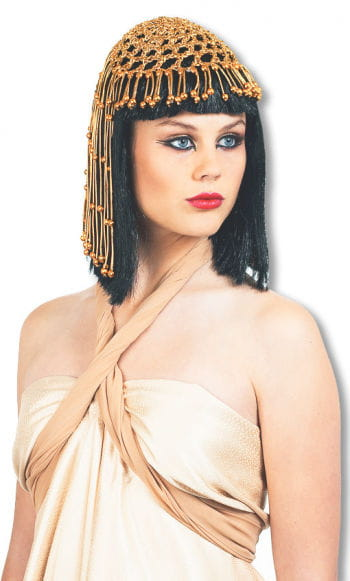 Cleopatra Wig Deluxe with Headdress
