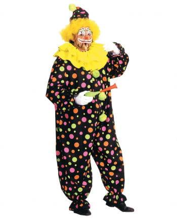 Clown Kostüm mit Neonpunkten